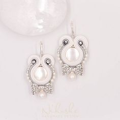 Svatba 2018 - sutaškové svatební náušnice Ag925 Pearl Earrings, Drop Earrings, Pearls, Jewelry, Pearl Studs, Jewlery, Jewerly, Beads, Schmuck