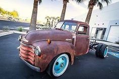 RaT RoD RiOT fan members share their photo for the line up each week.Inbox us your rat truck photo for next weeks Line Up! Vintage Pickup Trucks, Classic Pickup Trucks, New Trucks, Custom Trucks, Cool Trucks, Lowered Trucks, Dually Trucks, Chevy 3100, Chevy Pickups