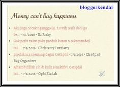 Blogger Kendal: Membuat Recent Comment di Blog