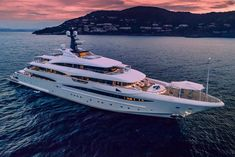 74m | CRN | Cloud 9 The yacht's interior has been designed by Andrew Winch and her exterior styling is by Zuccon. She has a cruising speed of 12 knots and a maximum speed of 16.5 knots.