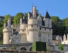 1. Chateau d 'Useé, el castillo de la bella durmiente. La estructura del castillo actual fue construida a partir del siglo XV.