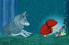 """Little Red Riding Hood"" by Jose Fragoso"