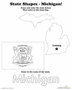 Michigan Worksheet state worksheets for all the states. #