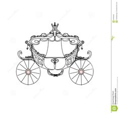 vintage-carriage-doodle-icon-28189453.jpg (1368×1300)