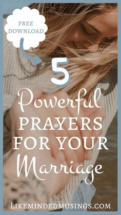After 18 years I've learned there is one key to a fulfilling marriage like no other! Prayer. Friends can I tell you without a doubt that prayer has made the biggest difference. Join me today to discover 5 Powerful Ways to Pray For Your Marriage!