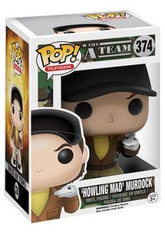 Howling Mad Murdock Vinyl Figure 374 - Funko Pop! van The A-Team