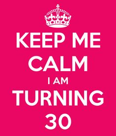 4cb95fcb InspirationzStore Typography - Keep Calm its your 25th Birthday hot pink  girly girls fun stay calm and carry on about turning 25 - Mo…