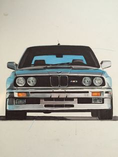 Awesome BMW 2017: 1989 BMW E30 M3. Pencils & Markers....  BMW