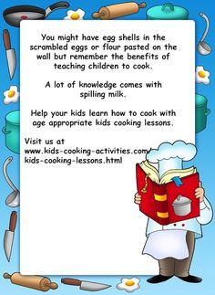 cooking lessons infographic