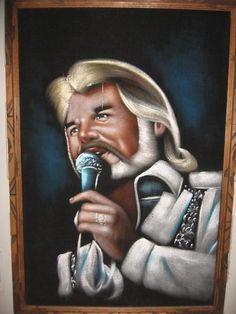 Kenny Rogers on Velvet. The way God intended.