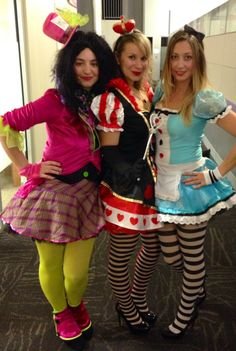The most Wonderland day of the year! The costume party goes on at Party City ...