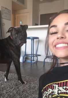"""Maggie] """"Everyone else is out getting girlfriends and boyfriends and I'm just here chillin with my doggy!"""""""