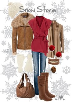 """""""Snow Storm"""" by jenniemitchell on Polyvore"""