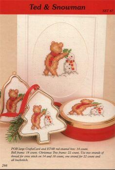 Set 67 Christmas Bears