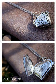 Heart Pocket Watch  $25