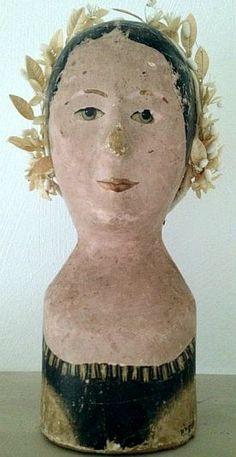 Hat Stands, Doll Head, Vintage Beauty, Softies, Antique Dolls, Mannequin, Crowns, Art Dolls, Paper Art