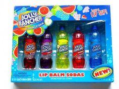 Jolly Rancher Lip Gloss set of 5 (naughty-but-nice) Tags: makeup pop icecream soda cosmetics lipgloss lipbalm Chapstick Lip Balm, Lipgloss, Eos Lip Balm, Lipsticks, Jolly Rancher, Kids Makeup, Cute Makeup, Make Up Geek, Gloss Labial