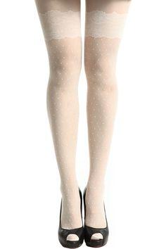 meias brancas