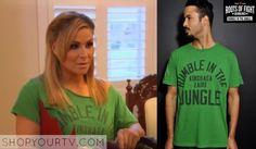 WWE Total Divas: Season 3 Episode 19 Natalya's Green Shirt
