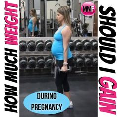 How much weight should I gain during pregnancy? This is a much asked question.  See all the tips for gaining no excess weight and having a healthy pregnancy here.  https://michellemariefit.publishpath.com/how-much-weight-should-i-gain-during-pregnancy