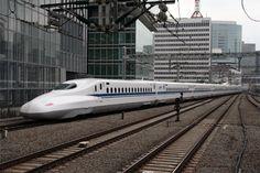 Location: Tokyo stn. Japan  Railroad: JR Tokaido shinkansen line  Locomotive/Train: JR series N700, Super express NOZOMI