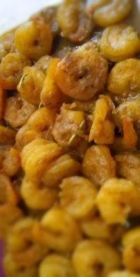 Garnalen in kerrie masala saus - Online-kookboek.nl