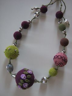 Crochet jewelry  Monami by Suzann61 on Etsy
