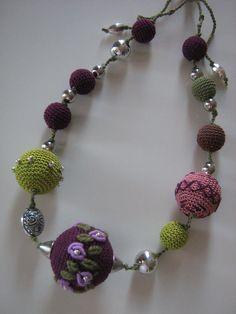 #Crochet #jewelry - Monami