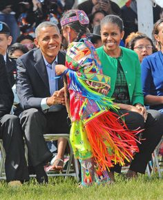 President Obama visits Standing Rock Sioux Indian Reservation in North Dakota - 6/13/14