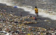 Mostly developing Asian countries, don't clean up how they throw stuff away, by 2025 the total accumulated plastic trash in the oceans will reach around 170 million.