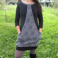 Ottobre dress 5/2014 Vestido DIY Costura Sewing Kids Clothes, Sewing For Kids, Diy Clothes, Wardrobe Makeover, Diy Couture, Fabric Manipulation, Needle And Thread, Refashion, Fashion Outfits