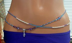 The Jazz Amethyst and Glass Double 2 Strand by RoyalWaistbeads, $33.00