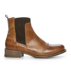 Nilson Shoes Kängor och Boots TEN POINTS, PANDORA CHELSEA Skinn Brun