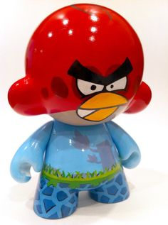 Angry Birds Toy Art.