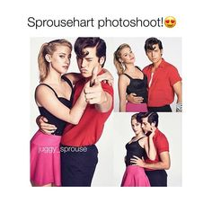 > Do you ship sprousehart? - - - #riverdale #sprousehart #lilireinhart #colesprouse
