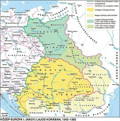 Old World Maps, Alternate History, Historical Maps, Middle Ages, Continents, Hungary, Maps, Cards, Geography