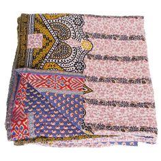 kantha sari blanket mukta_fair trade