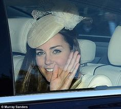 Proud mother Kate Middleton :)