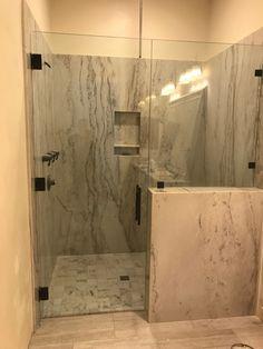 Could this be your new shower? Check out more at www.framelessglassaz.com?utm_content=bufferdaf30&utm_medium=social&utm_source=pinterest.com&utm_campaign=buffer #framelessglass #showerdoor