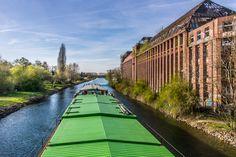 HANNOVER Binnenschiffahrt - Stichkanal/Hannover-Linden Dubai, Germany, Places, History, Hannover, Earth, Travel, Photo Illustration, Deutsch