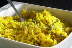 Terapia do Tacho: Arroz de açafrão com ervilhas (Safron and pea rice)