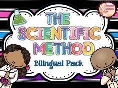 The Scientific Method- El Método Científico for bilingual classroom. Includes up to 36 posters and a foldable in colour and BW in both languages.
