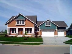 Craftsman House Plan chp-46942 at COOLhouseplans.com