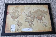 How to Make a Push-Pin Travel Map
