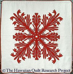 More than fifty thousand contemporary and traditional quilts at your fingertips, plus journals, essays, galleries, lesson plans and more featured on the Quilt Index. Hawaiian Quilt Patterns, Hawaiian Quilts, Applique Patterns, Applique Designs, Traditional Quilts, Bold Colors, Stitch, Fabric, Inspiration