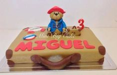 Image result for paddington bear birthday cake Bear Birthday, Birthday Cake, Paddington Bear, Big Cakes, Desserts, Image, Cakes, Tailgate Desserts, Deserts