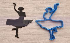 Chassé your way to beautiful cakes and cookies! Use this Dance Cutter to pay tribute to a dancer, or to fill a dance floor with lively silhouettes.