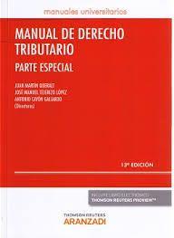 Manual de derecho tributario. Parte especial . - 2016