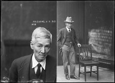 1920's mugshots from the Sydney Police Department