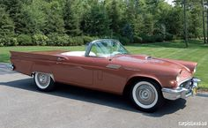1957 Ford Thunderbird E-Code Convertible
